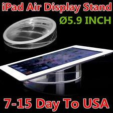 5.9 Inch Round Acrylic Clear Display Stand Acrylic Stand Holder Tab For iPad Air