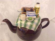 Cardew da collezione Novità Grande Betty Teiera Tè da tavolo in scatola perfette condizioni