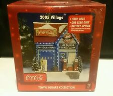 "Coca Cola Village Town Square Collection - 2005 FLYING ""A"" GAS STATION NIP"