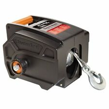 Portable Electric Winch 12 Volt Truck Tow Cable Boat Marine Trailer 6000 Pound