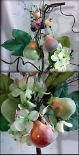 "NWT 32"" Artificial Hydrangea, Figs &  Persimmons Stem or Branch"