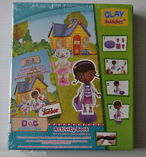 Disney's DOC McSTUFFINS CLAY BUDDIES Activity TOY SEALED 2014