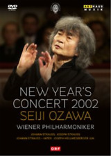 New Year's Concert: 2002 - Wiener Philharmoniker (Ozawa)  DVD NEW