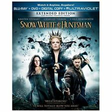 Snow White and the Huntsman [ BLU-RAY + DVD  ] BRAND New and Sealed ~ Authentic