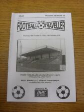 16/10/2014 The Footballer Traveller: Vol 28 Issue 11 - Farsley & Barwell Cover I