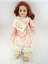 BELLISSIMO ANTICO 1890s Armand Marseille Germania Charlotte BISQUE DOLL