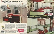 1952 FORMICA Bonded Laminate HOME Decor Kitchen Design ASBESTOS History Brochure