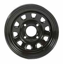 2-ITP Delta Black Steel Wheel Front Suzuki 05-14 450/700/750 King Quad 371363