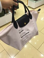 Longchamp Le Pliage Valentine Large Shoulder Tote Bag Girl Pink NEW
