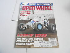 OCT 1992 OPEN WHEEL vintage car racing magazine