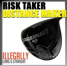 ANTI-SLICE USGA BANNED ILLEGAL DRAW OFFSET XTRA DISTANCE STIFF STEEL DRIVER 10.5