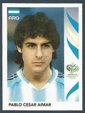 PANINI FIFA WORLD CUP-GERMANY 2006- #177-ARGENTINA-PABLO CESAR AIMAR