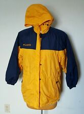Columbia Winter Jacket Coat Womens Small Yellow and Blue RN 69724 Runs Large