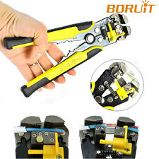 Auto Adjust Cable Wire Stripper Crimper Terminal Cutter Electrical Tool 0.2-6mm²
