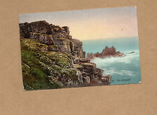 Cornwall Lands End tinted posted 1919 Penzance postmark  BR1