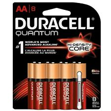Duracell Quantum AA Batteries With Duralock Power Preserve Technology 8 ea