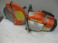"STIHL TS-400 GAS POWERED 14"" CONCRETE CUT OFF MACHINE SAW DIAMOND BLADE 2 STROKE"