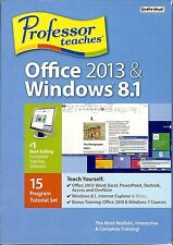 Office 2013 & Windows 8.1 - Professor Teaches