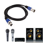 10ft XLR Male to Female 3pin MIC Shielded Cable Microphone Audio Extension Cable