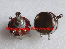 2PCS WTH118-1A 2W 100K ohm Rotary Taper Potentiometer