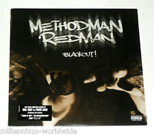 "METHOD MAN / REDMAN - BLACKOUT! -  DOUBLE 12"" VINYL LP - SEALED RECORD ALBUM"