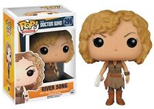 FUNKO POP TELEVISION DOCTOR WHO RIVER SONG #296 NEW IN BOX #6209