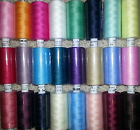 Moon Sewing Spun Polyester Threads by COATS 120s Choose From 30 Different Colou