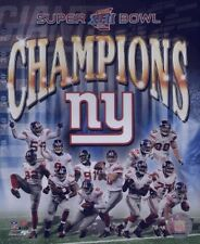 "Lot OF 5 PHOTOS of New York Giants Super Bowl XLII 8"" x 10"""