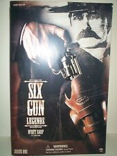 SIDESHOW 12 INCH SIX GUN LEGENDS OF THE WEST WYATT EARP AT THE OK CORREL MIOB