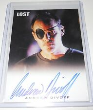 LOST Rittenhouse Archives Autograph Trading Card Andrew Divoff as Mikhail (B)