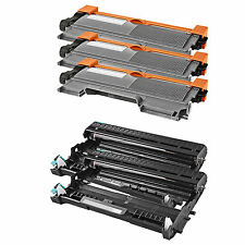 3x TN450+2x DR420 Toner Drum For Brother MFC-7460DN 7860DW HL-2270DW HL-2280DW