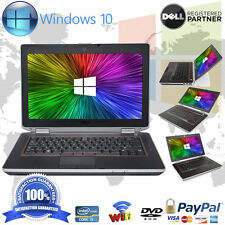 Dell Laptop Latitude Windows 10 Core i5 8GB Ram 500GB DVD WIFI Computer Win HD