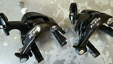 Shimano 105 Brake Calipers (PAIR) 39-49mm Drop (NEW) BR-5800 Front + Rear BLACK