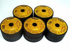 "50 New DEWALT 4-1/2"" x 1/4"" x 7/8"" METAL GRINDING WHEELS - DW4541 Free Shipping"