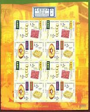 MACAO-CHINA-2002-GASTRONOMY & SWEETS HAWKER´S- MINI SHEET -16  stamps-(4X4)