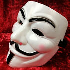 Party Club Cool V FOR Vendetta Anonymous Movie White Adult Guy Mask Halloween