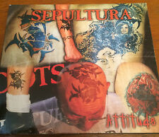 Attitude - Sepultura - 1996 - CD1 Single Digipak. Road Runner. Soulfly. Heavy.