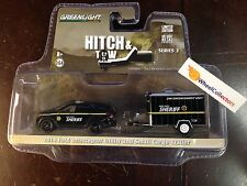 Greenlight * Hitch & Tow Ford Interceptor & Small Cargo Trailer * Series 3