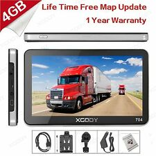 "XGODY 7"" Car GPS SAT NAV Navigation System  FM Speedcam POI Free new maps Update"