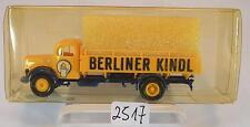 Brekina 1/87 Mercedes Benz L 311 LKW Berliner Kindl Ersatz-OVP #2517