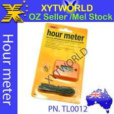 TL0012 Hour Meter Marine ATV Motorcycle Dirt Ski KTM EXC EXE SX XC SXF -Orange