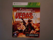 XB360 RAINBOW SIX: VEGAS 2 (2008) XBOX ONE Game MICROSOFT Digital Download Card