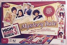 High School Musical 3 Mystery Date Board Game 2008