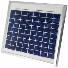Coleman 10 Watt Portable Crystalline Solar Panel 12V Battery Charger DC 38001