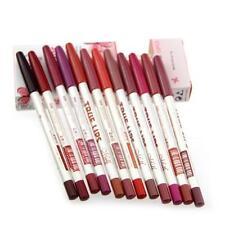 Waterproof 12pcs/Set Lip Liner Pen Pencil Long Lasting Lipliner Makeup Tools D1