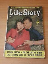 Life Story #16 ~ FINE FN ~ 1950 Fawcett Comics