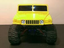 Rc Hard body 1/16 1/18 scale Hummer crawler truck LED light kit Losi Traxxasmini