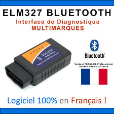 Adaptateur Interface Diagnostique ELM327 OBD2 II Scanner Bluetooth Android