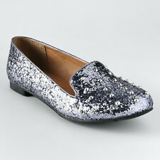 Candie's® Slip-On Studs & Sparkles Girl's Shoes - Size 6.5