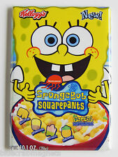 Spongebob Squarepants Cereal Box FRIDGE MAGNET (2 x 3 inches) cartoon tv show